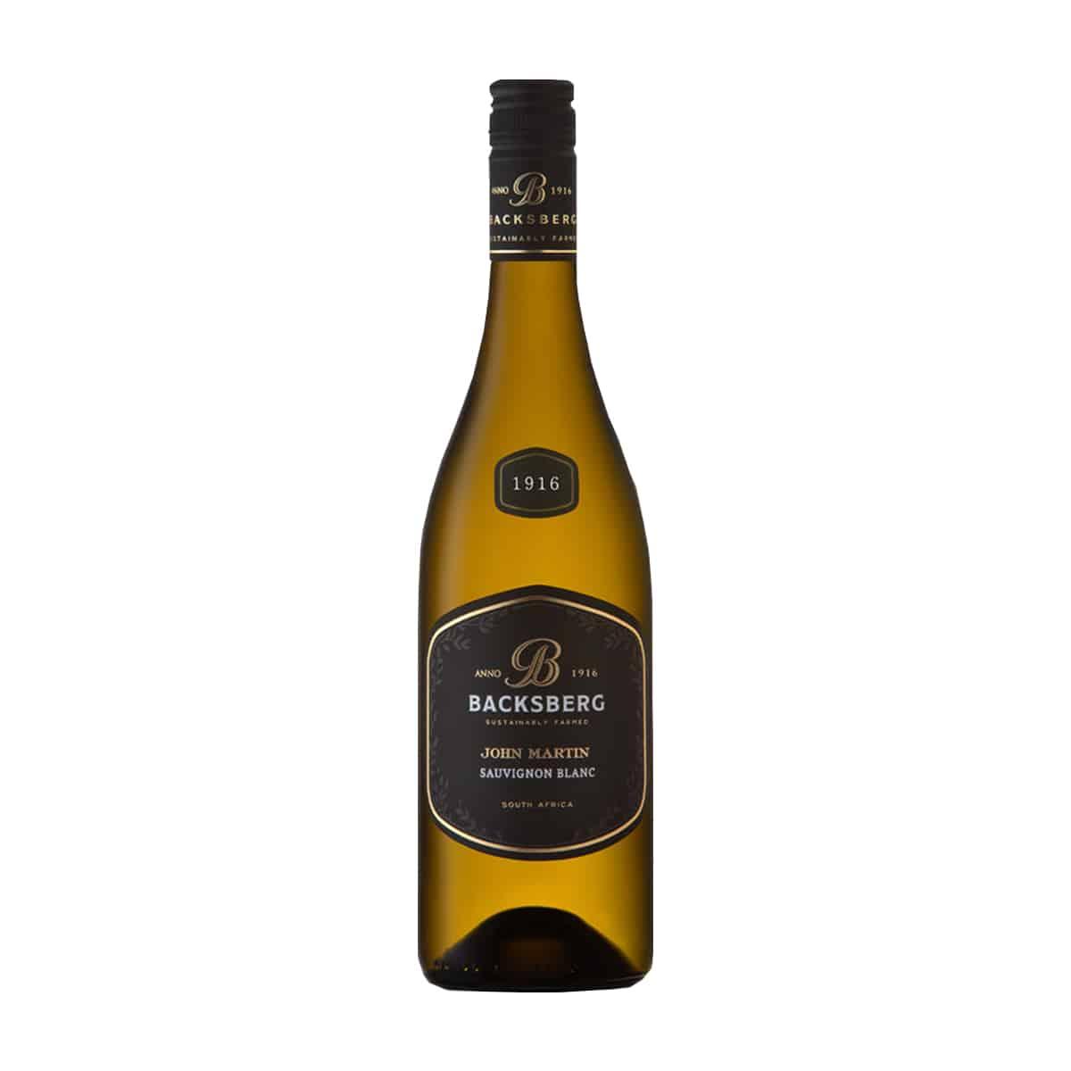 Sauvignon Blanc Black Label range, 2019 Backsberg Zuid-Afrika