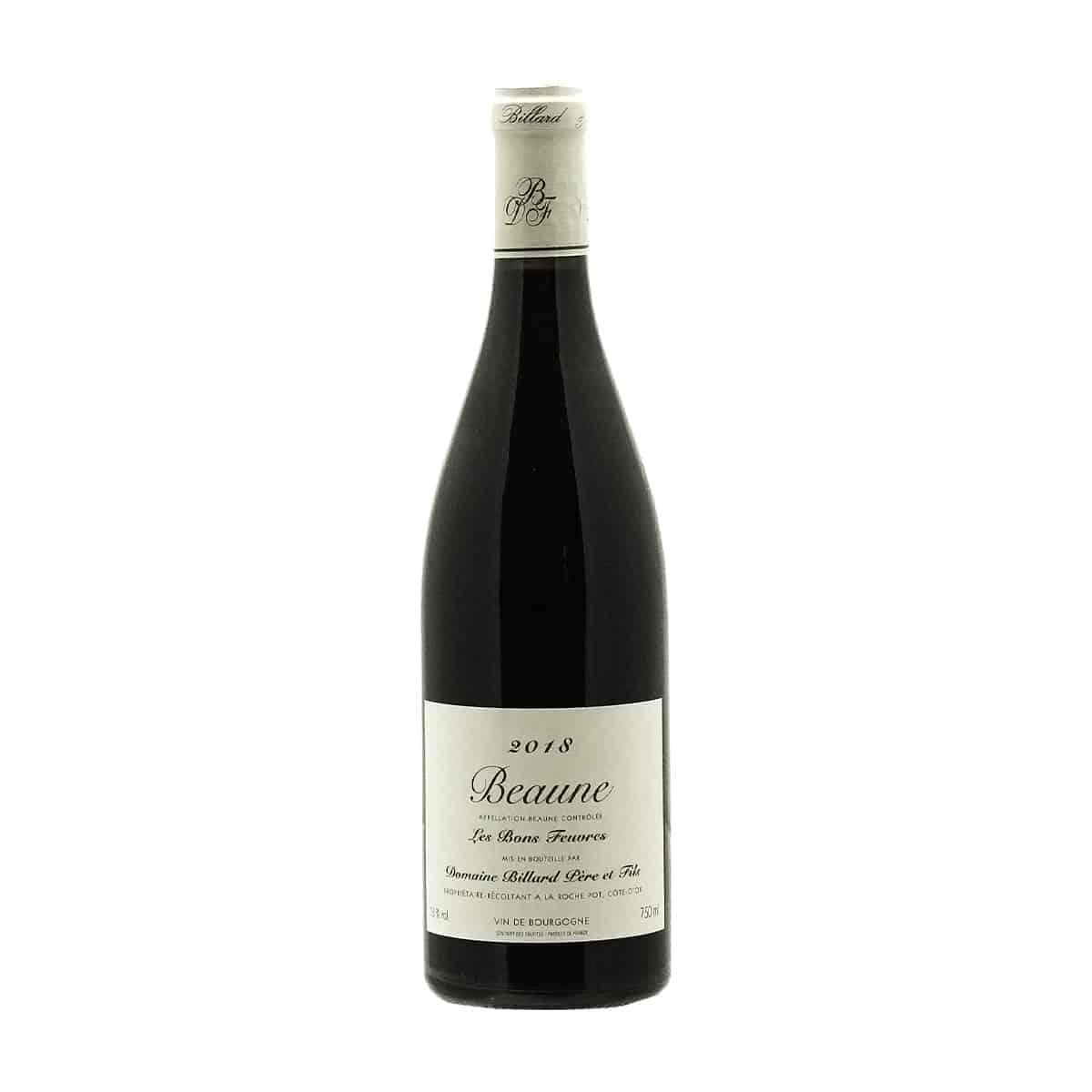 Bourgogne, Domaine Billard Père et Fils, Les Bonnes Feuvres, Beaune, AOP 2018, Frankrijk